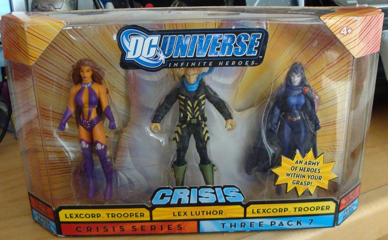 Mattel DC Universe Infinite Heroes 3-Pack Starfire / Boomerang ...