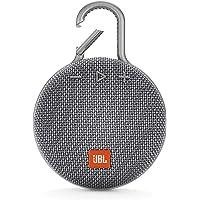 JBL JBLCLIP3GRY Taşınabilir Bluetooth Hoparlör, Gri
