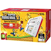 Nintendo 2DS Konsole weiss rot Special Edition inkl. New Super Mario Bros. 2