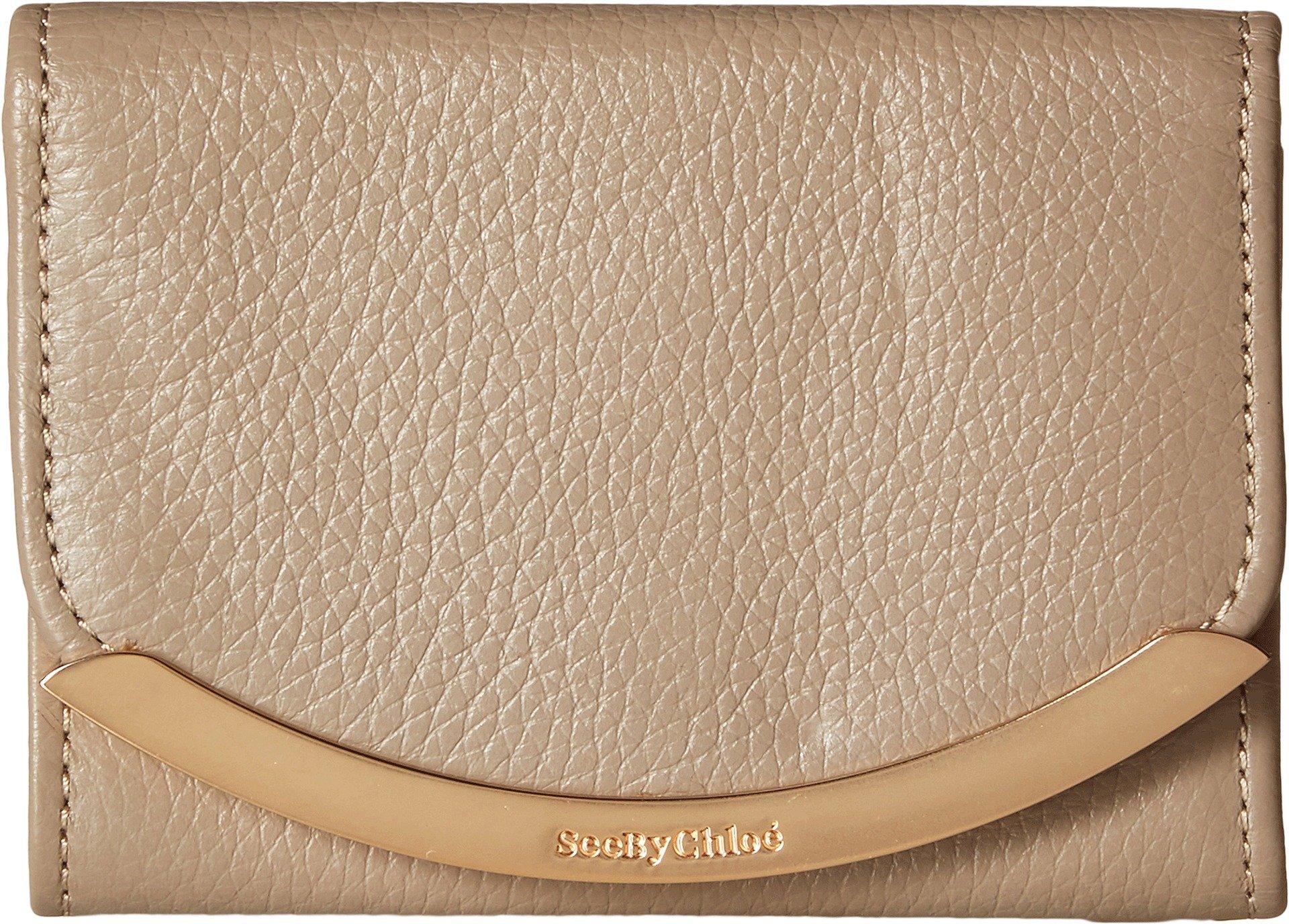 See by Chloe Women's Lizzie Mini Wallet, Pearl Beige, One Size