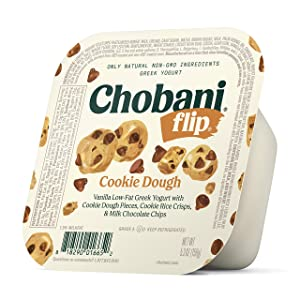 Chobani Flip Low-Fat Greek Yogurt Cookie Dough 5.3oz