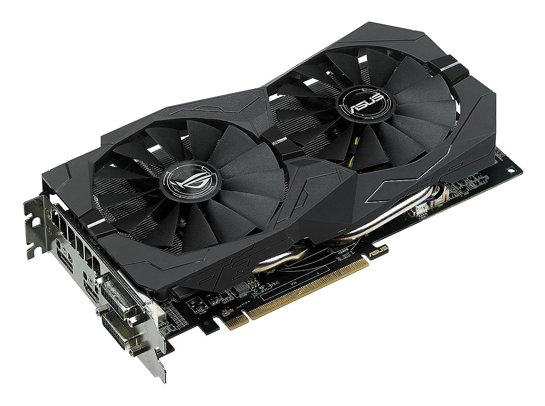 Asus STRIX-RX470-O4G-GAMING - Tarjeta gráfica (Strix, 4 GB, AMD Radeon RX 470, GDDR5, PCI Express 3.0, 8000 MHz, resolución de 7680 x 4320)