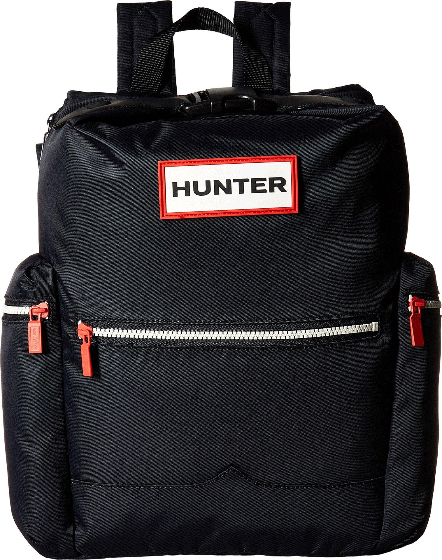 Hunter Boots Men's Original Nylon Backpack, Black, One Size