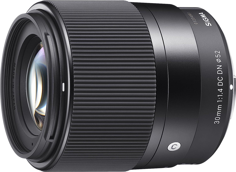 Sigma 30mm f/1.4 DC DN Contemporary - Objetivo estándar para el Sistema Sony Montura E, Color Negro