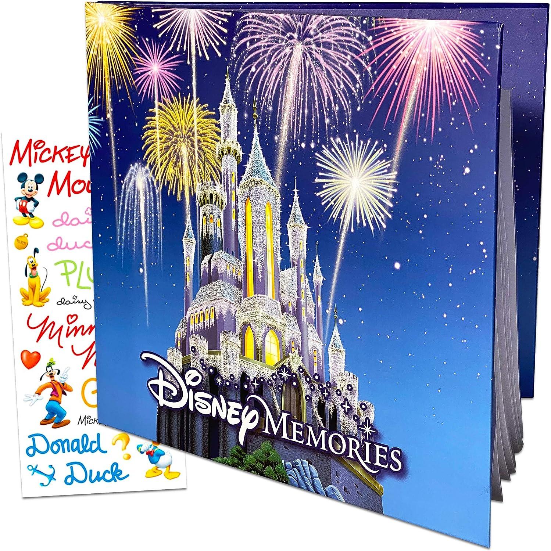 Disney DIY Crafts Disney Scrapbook Supplies Disney Memorabilia Scrapbook Album Classic Disney Castle Scrapbooking Paper Craft Supplies 12 x 12