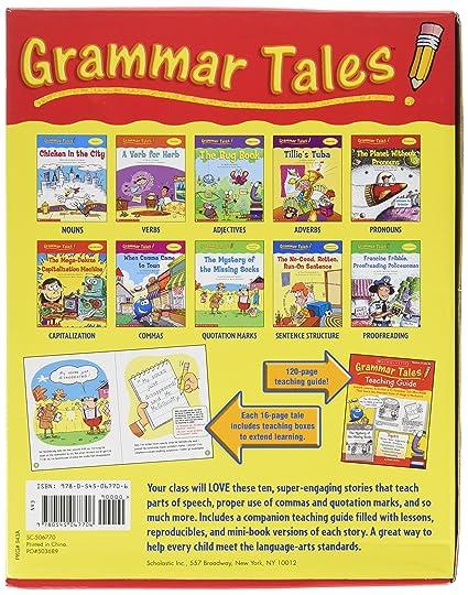 Amazon.com: Scholastic 0439458153 Grammar tales, 120-page teaching ...