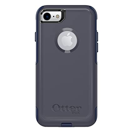 check out d39c7 f30d4 OtterBox COMMUTER SERIES Case for iPhone 8 & iPhone 7 (NOT Plus) - Retail  Packaging - INDIGO WAY (MARITIME BLUE/ADMIRAL BLUE)