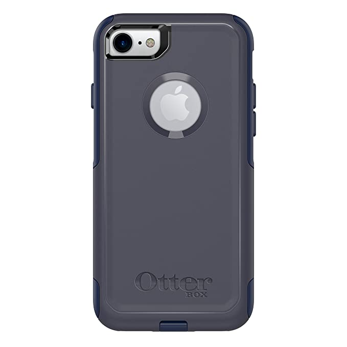 check out b6ee8 fa829 OtterBox COMMUTER SERIES Case for iPhone 8 & iPhone 7 (NOT Plus) - Retail  Packaging - INDIGO WAY (MARITIME BLUE/ADMIRAL BLUE)
