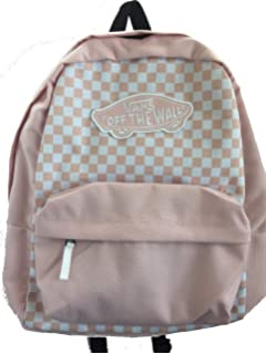 a8d3aa9620 Amazon.com: Vans Realm Backpack - Strawberry Pink: Clothing