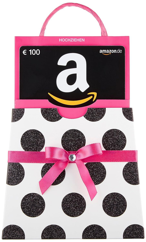 Amazon.de Geschenkkarte in Geschenkschuber (pinke Schleife) - mit kostenloser Lieferung per Post Amazon EU S.à.r.l.