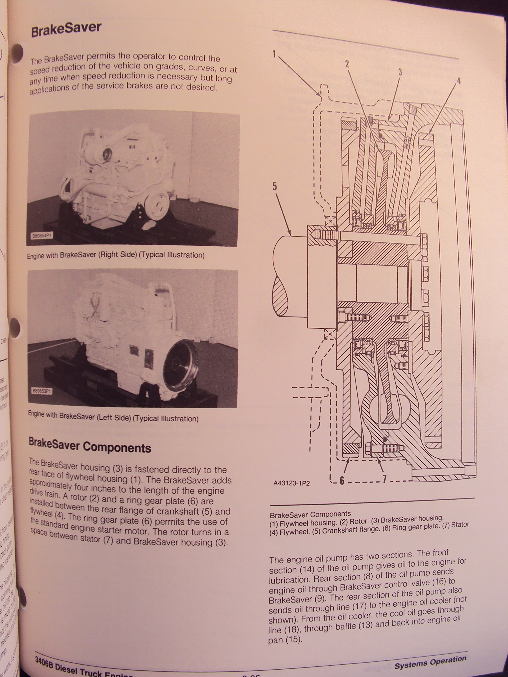 Mitsubishi Diesel Engine D3 4dr Industrial Maintenance Manual 3406b Diagram Motors Corporation Books