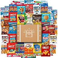 Snack Chest 50 Count Cookies, Chips & Candies Ultimate Snacks Care Package
