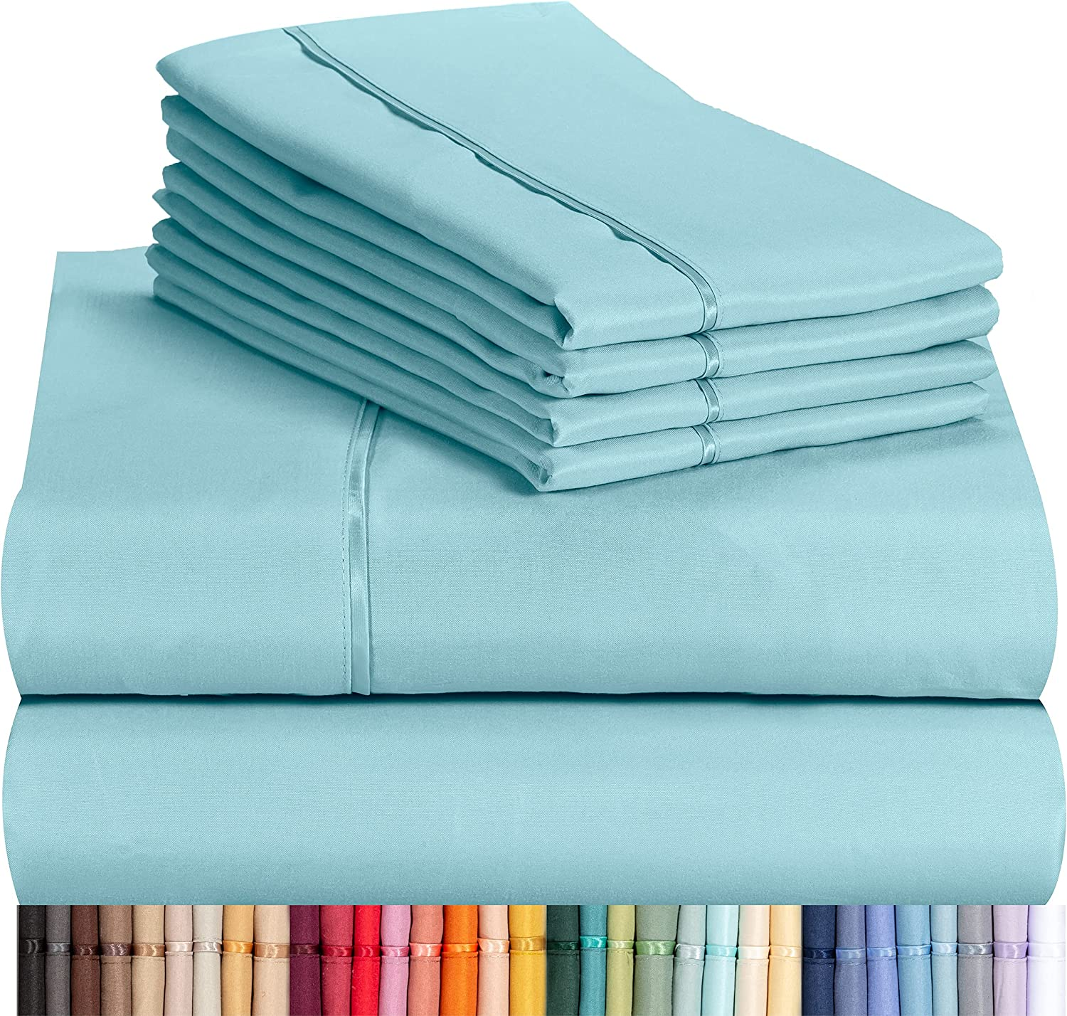 LuxClub 6-Piece Bamboo Sheets (Full) $36.95 Coupon