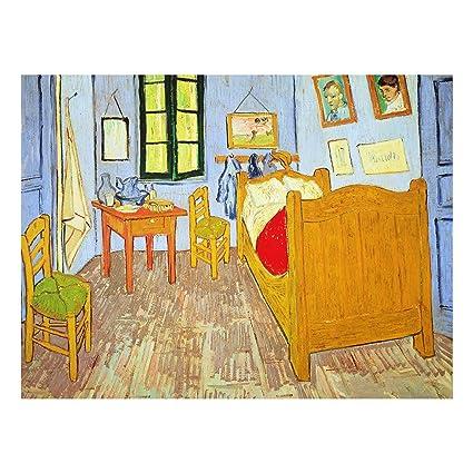 Bilderwelten Quadro su vetro Vincent van Gogh La Camera di ...