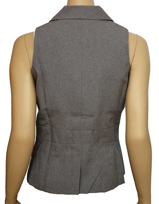 SOUTH Smart Grey Sleeveless Long Length Waistcoat RRP /£25.