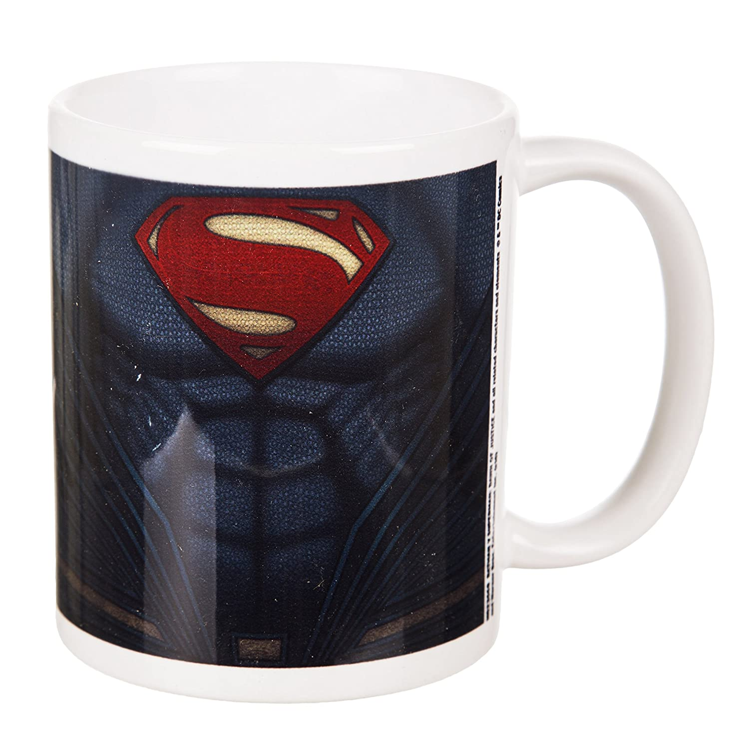 Batman V Superman Superman traje taza: Amazon.es: Hogar