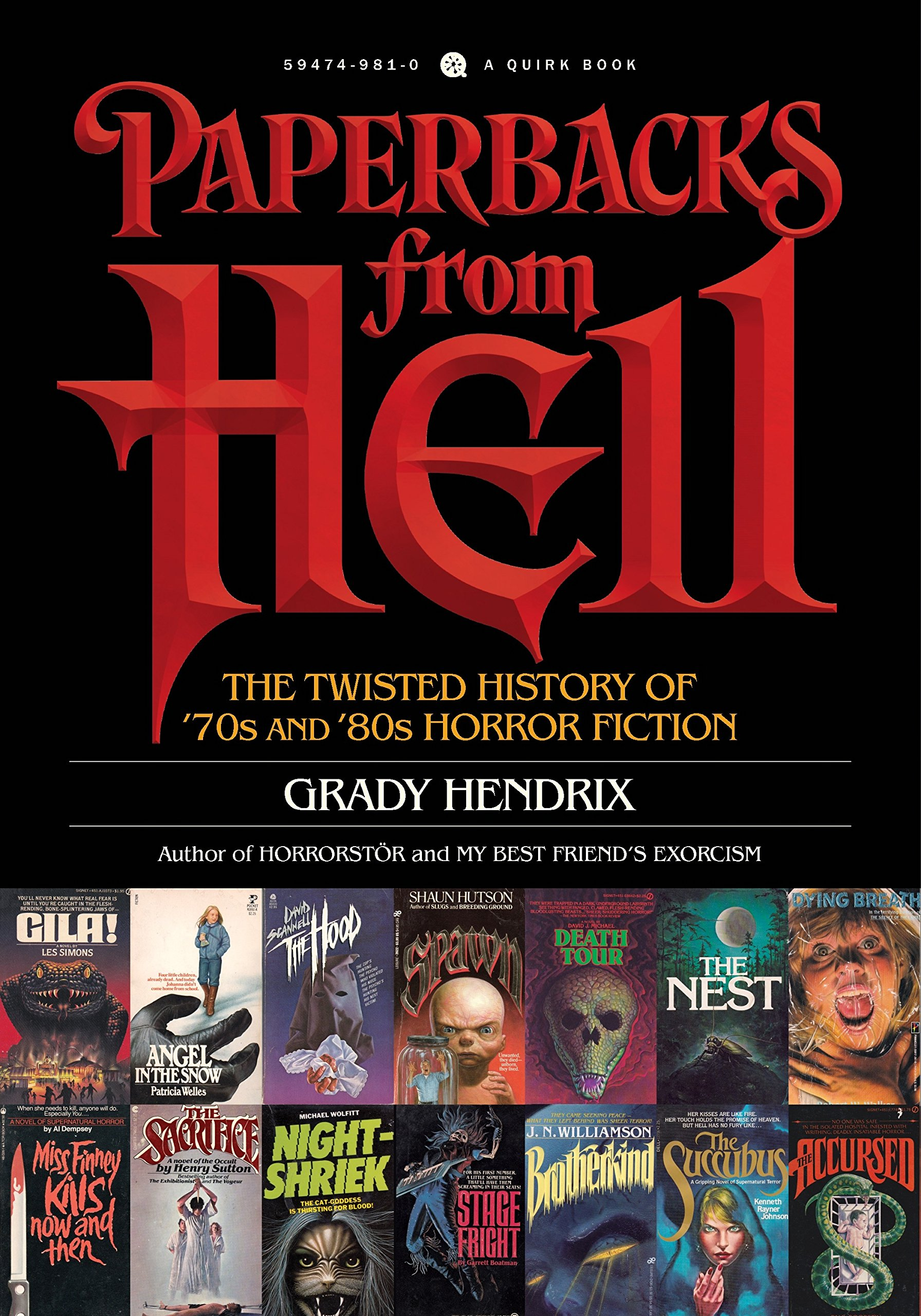 Amazoncom Paperbacks From Hell The Twisted History Of S And - 23 of the strangest books to ever appear on amazon