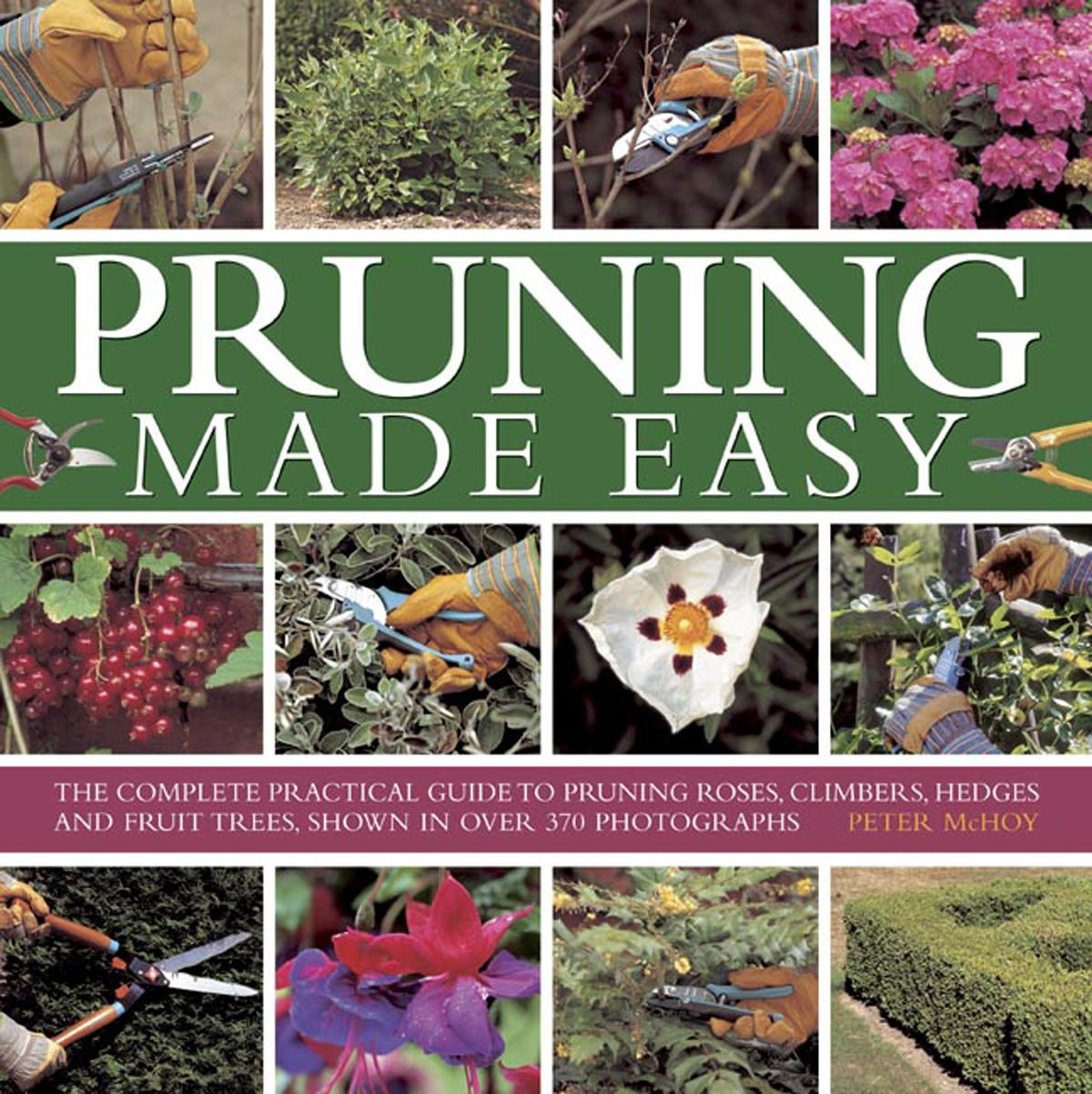 Pruning Made Easy Practical Photographs