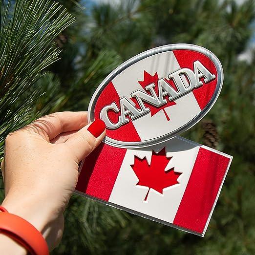 Canada Flag Sticker Canadian Decals