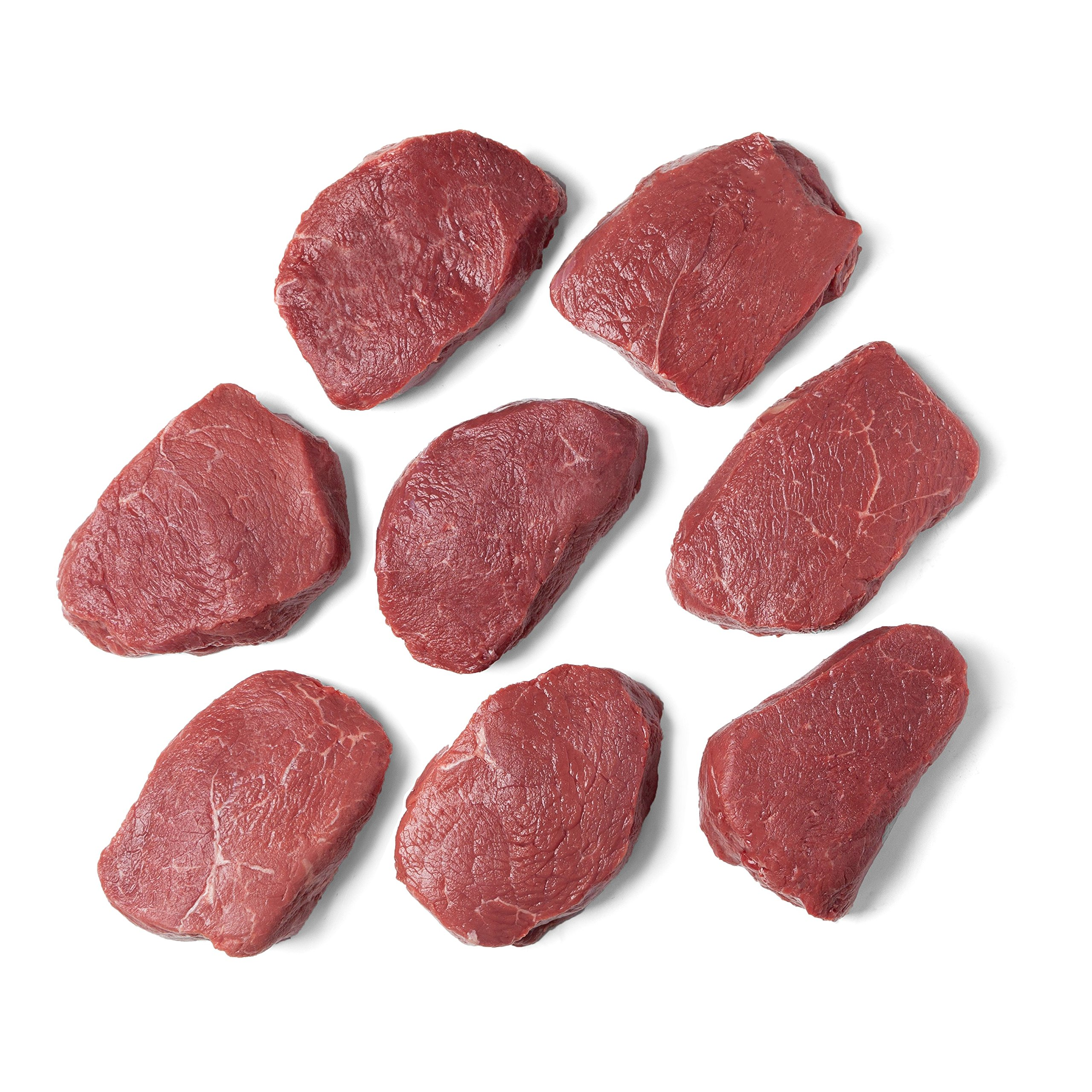 Pre, 8 (8 oz.) Top Sirloin Steaks – 100% Grass-Fed, Grass-Finished, and Pasture-Raised Beef