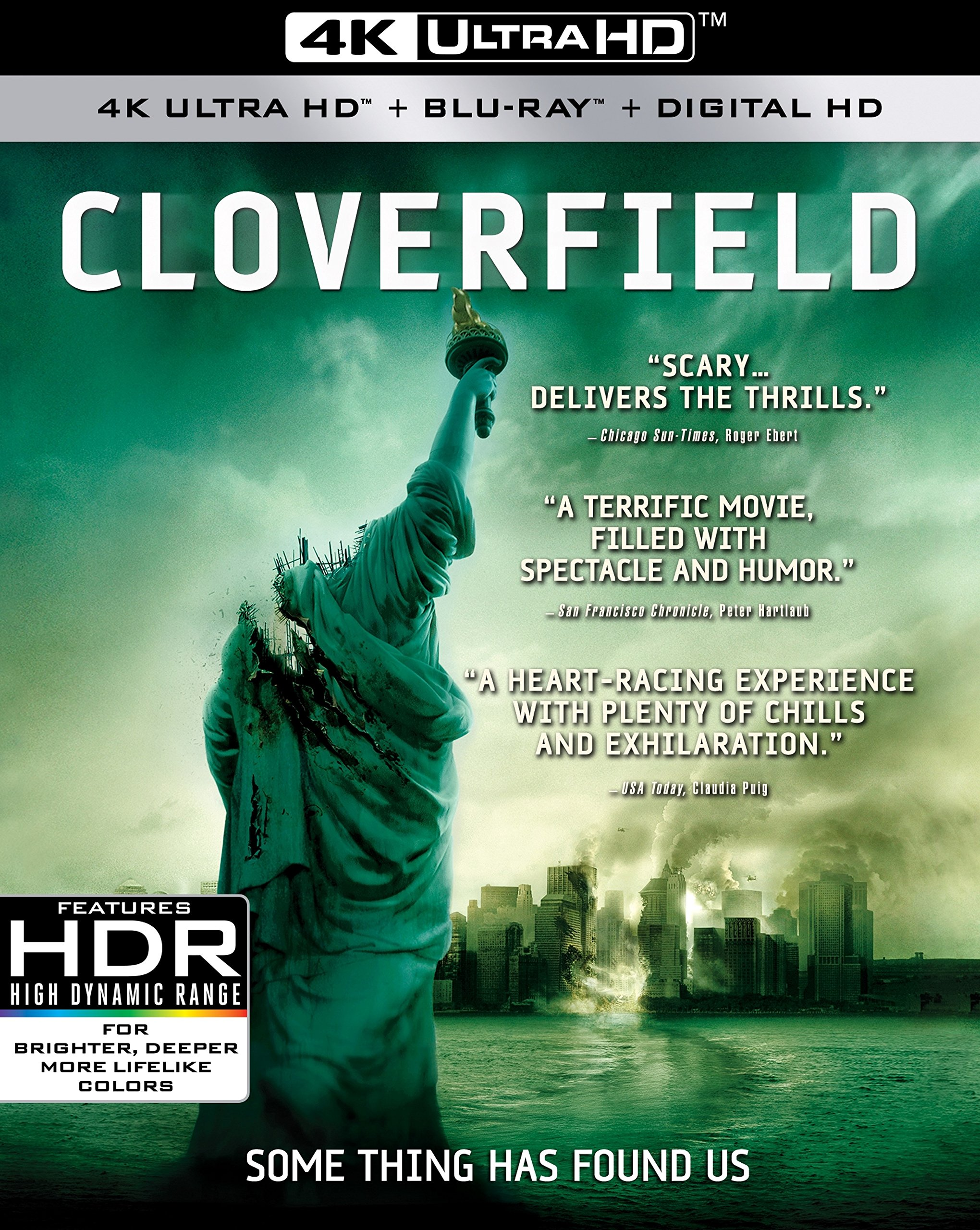 4K Blu-ray : Cloverfield (With Blu-Ray, 4K Mastering, 2 Pack, , Dubbed)