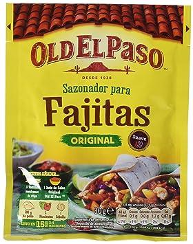 Old El Paso Sobre de Sazonador para Fajitas - 30 g: Amazon.es: Amazon Pantry