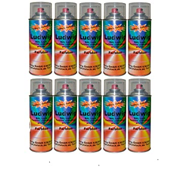 10 Gloss Spray Can 400 Ml Car Paint Ral 7043 Traffic Grey B