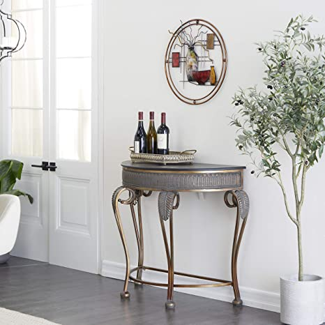 Amazon.com: Deco 79 Metal Console Table, 41 by 33-Inch: Furniture