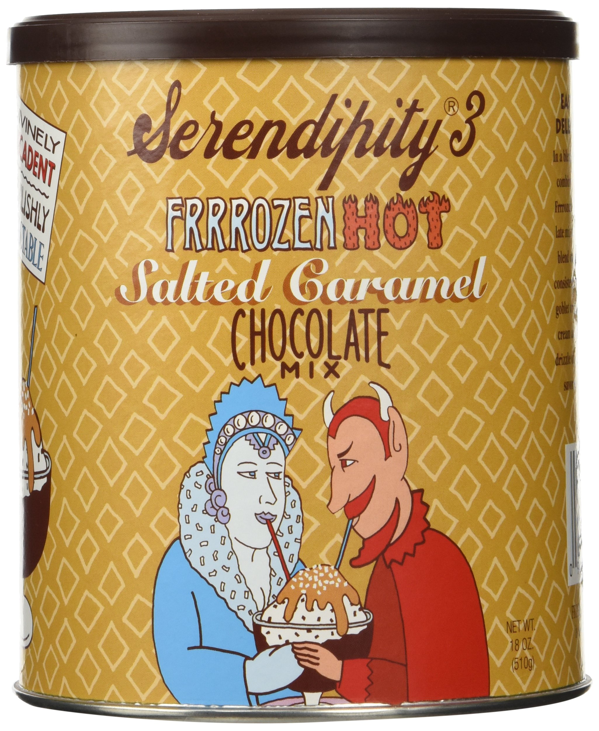 Serendipity 3 Frrrozen Hot Salt Caramel Choc Mix 18 oz. Can