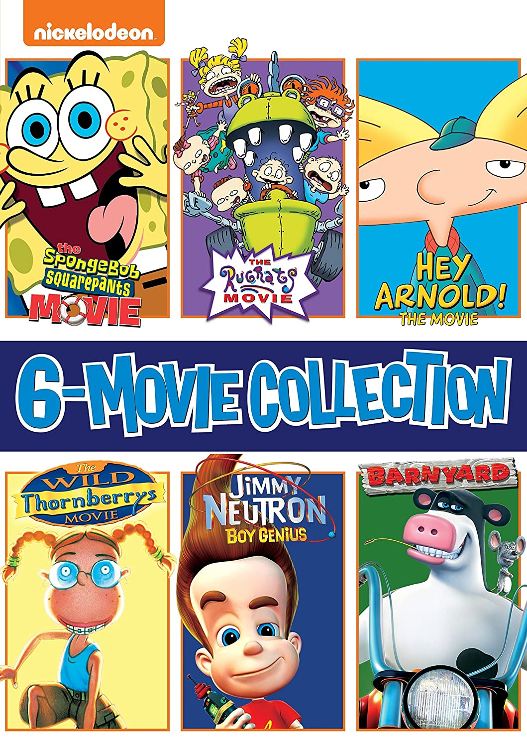 nickelodeon animated 6 movie collection the rugrats movie