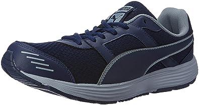Puma Men s Harbour Fashion Peacoat and Limestone Running Shoes - 8 UK India  (42 77eb14e6e