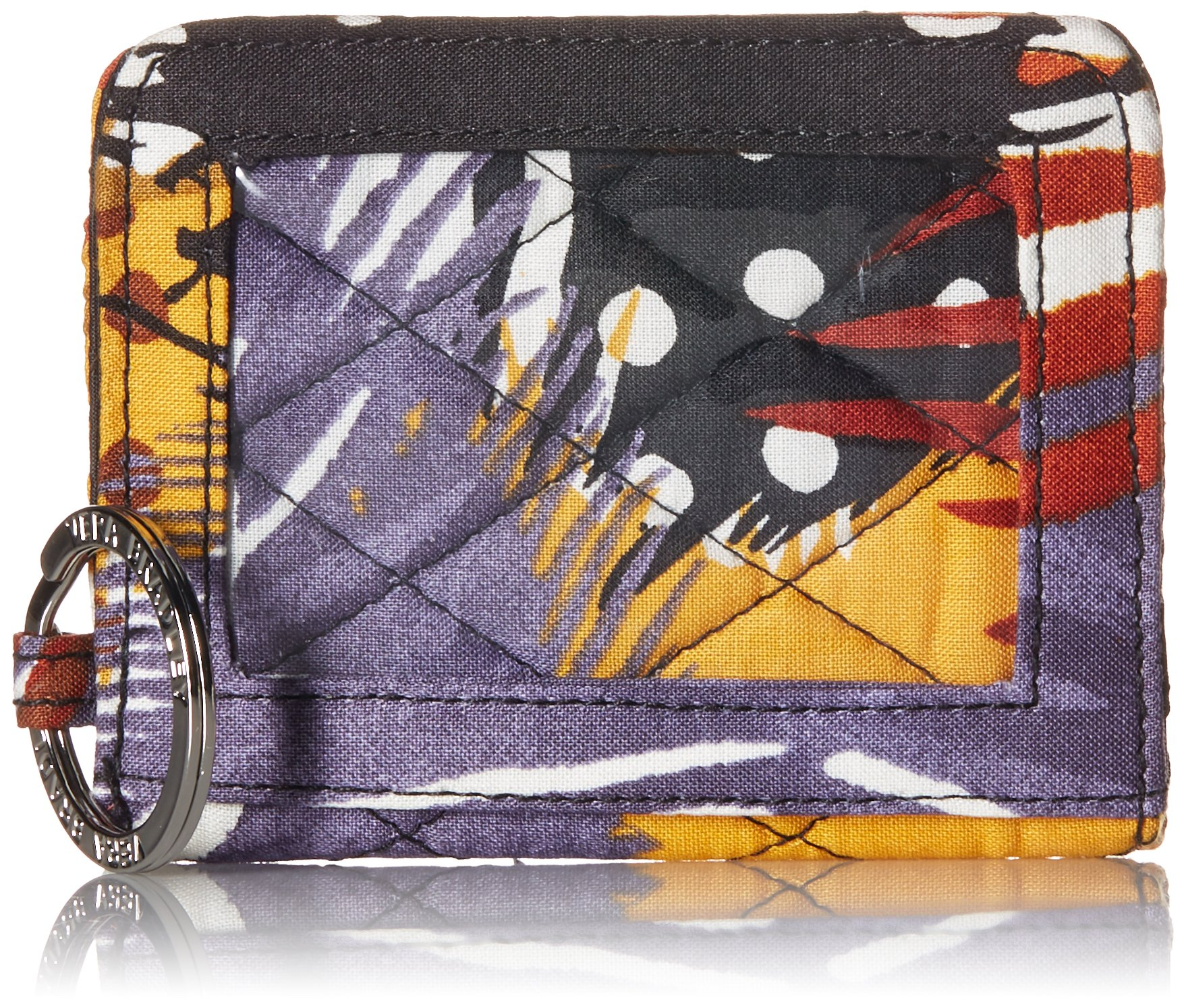Vera Bradley Womens' Campus Double ID Holder, Painted Feathers, One Size