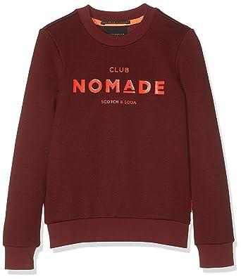 Scotchamp; Shirt Crew Soda Club Nomade FilleAmazon Basic Neck Sweat 7gyYb6fv