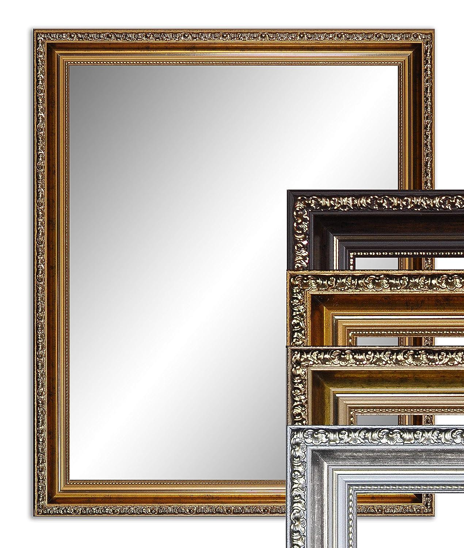 130 x 60 cm (127 x 57cm), Antik Antik Antik Spiegel, Alte Spiegel, Stabiler Rückwand, Rahmen Farbe  Dunkel Gold 87c914