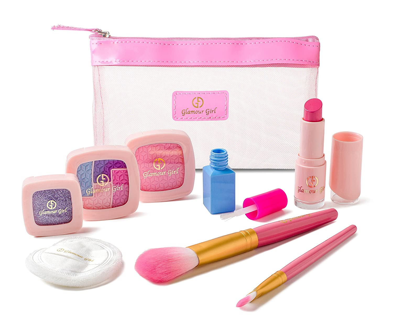 makeup kits for little girls. pretend makeup starter set for girls from the exclusive glamour girl collection: amazon.co.uk: toys \u0026 games kits little u