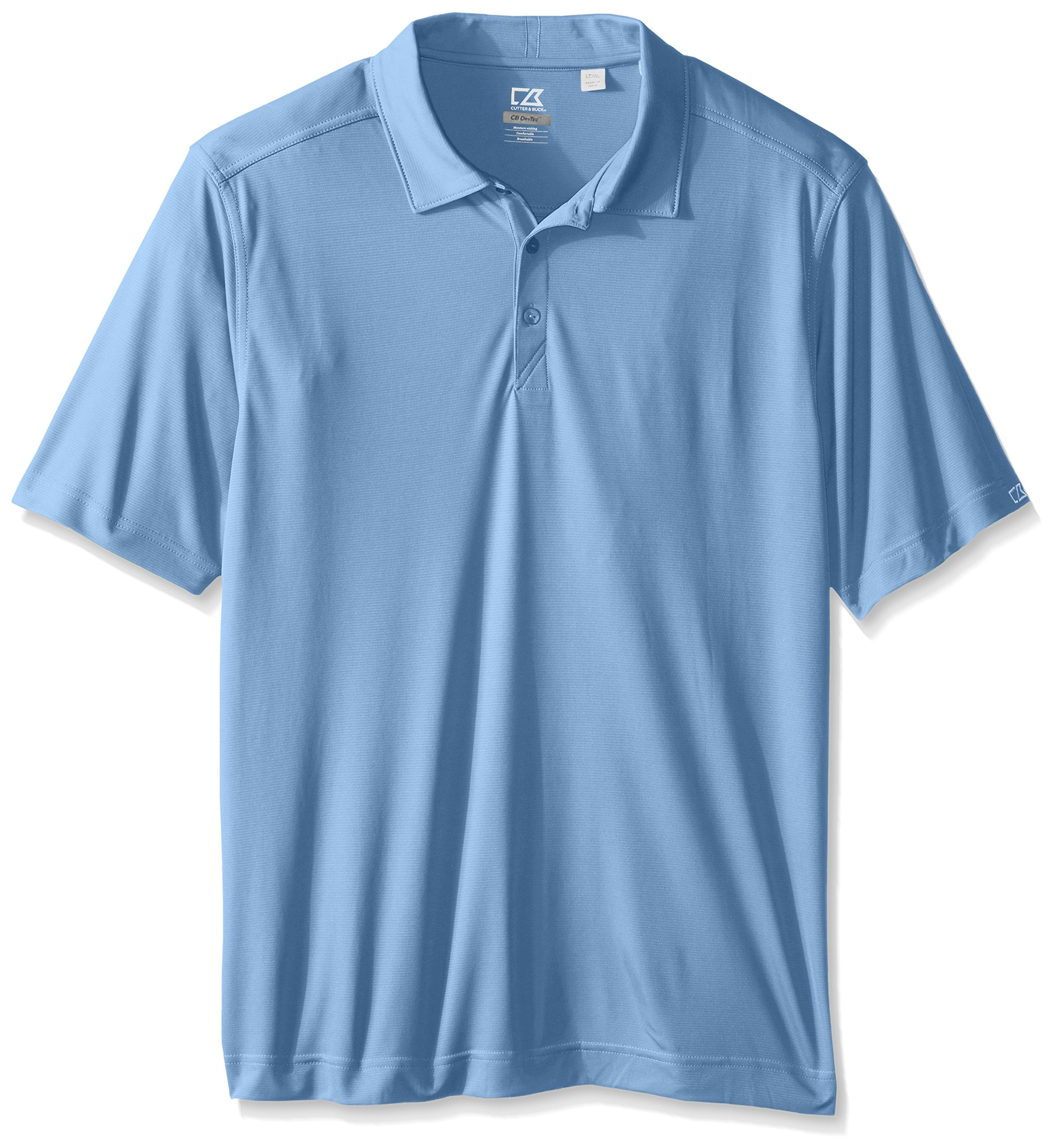 Cutter & Buck Men's Tall Cb Drytec Northgate Polo Shirt, Atlas, 5X/Big