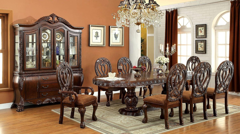 Amazon.com: Inland Empire Furniture Wyndmere 9 pc Dining ...