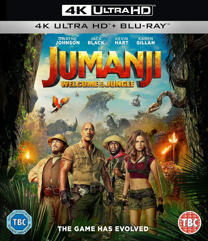 Jumanji Welcome To The Jungle 2017 Blu Ray Forum