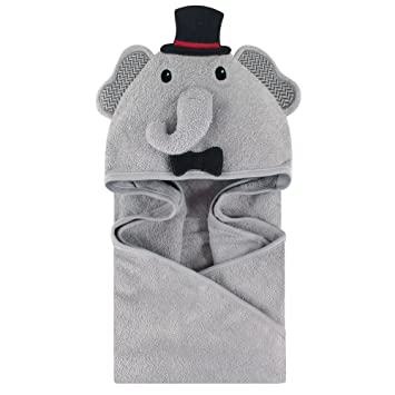 31e8efbaa9 Amazon.com   Little Treasure Animal Face Hooded Towel