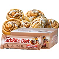 Universal Nutrition Gluten Free, Sugar Free, Doctor's CarbRite Diet Protein Bar Frosted Cinnamon Bun 2 oz bar 12 Count