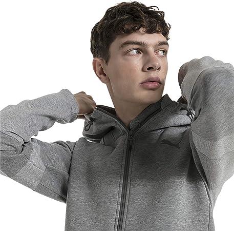 TALLA M. PUMA Evostripe Move Hooded Jacket - Sudadera Hombre