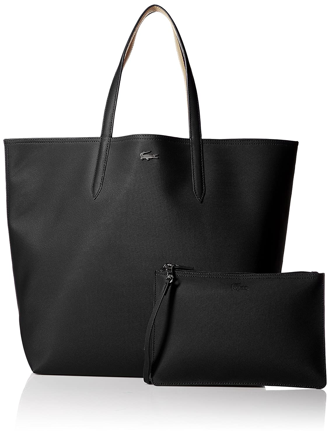 Lacoste Anna Shopping Bag, NF2142AA, Black Warm Sand  Amazon.ca  Clothing    Accessories 4bb6fca3a7