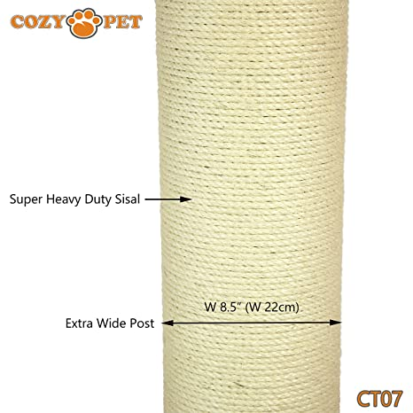 cc3b03cbf67b Cozy Pet Deluxe Fat Boy Super Large Cat Scratching Post Scratcher Activity  Centre with Heavy Duty Sisal in Beige XXL CT07. (We do not ship to the  Channel ...
