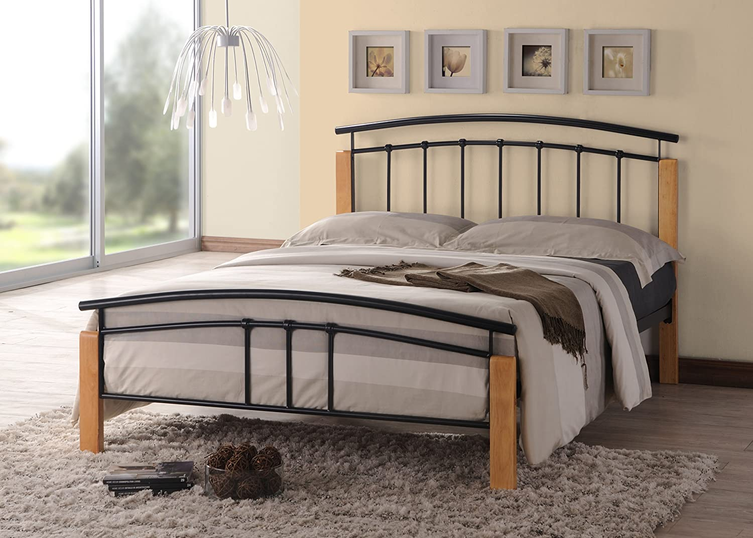 mattress if products with double carl furniture bed metal bedroom