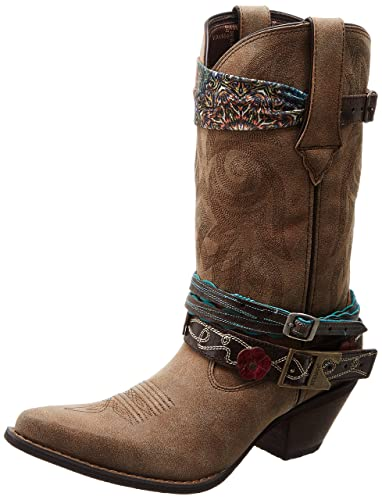 "Womens Crush By 12"" Accessory Western Boot"