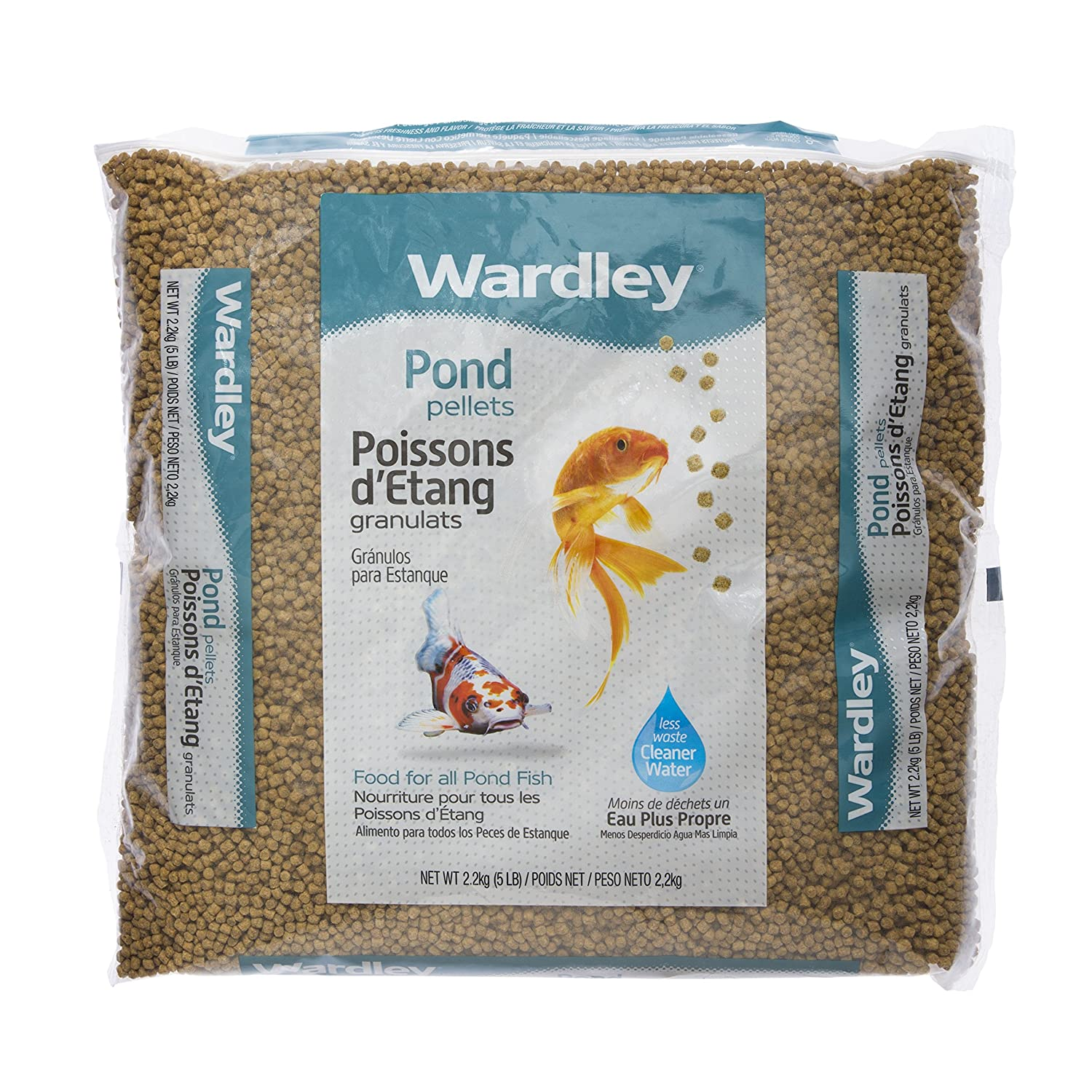 5LB Wardley Pond Fish Food Pellets 5lb