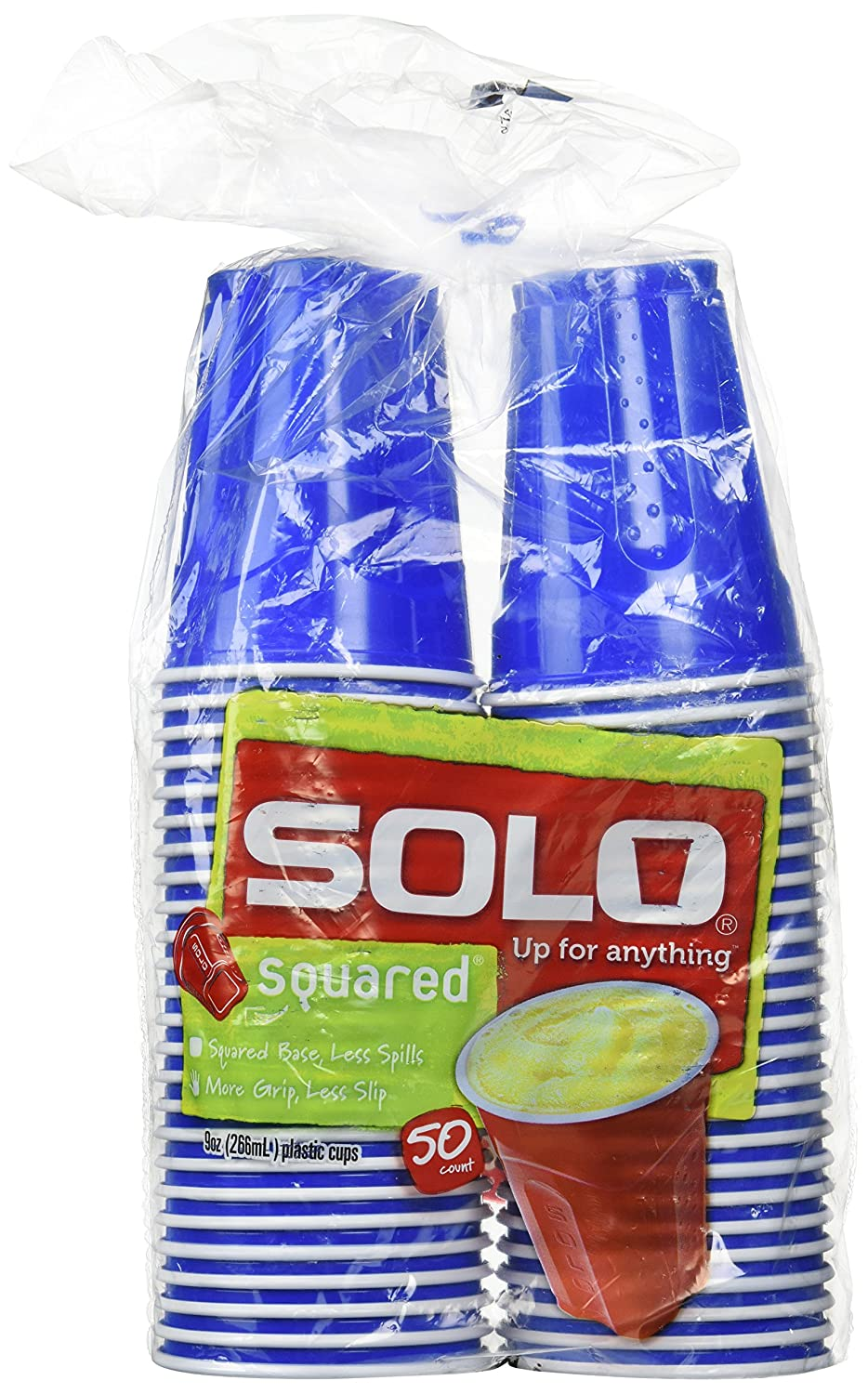 Solo Party Cups, Blue - 9 oz - 50 ct