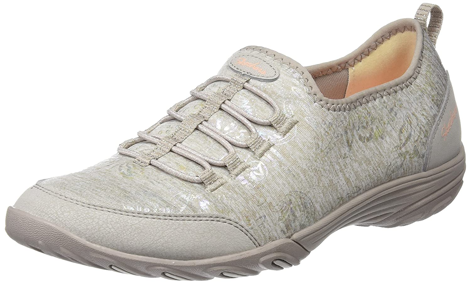 Skechers Empress Trendy Classic Womens Slip On Sneakers B076T8DSYG 8 B(M) US|Taupe