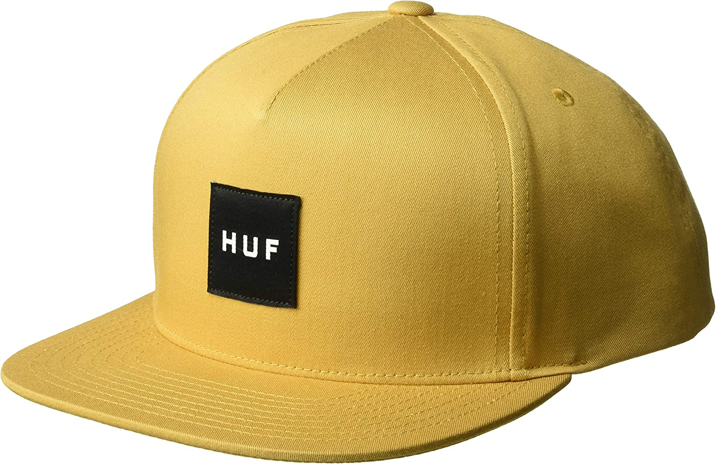 HUF Gorra Snapback Box Logo Mostaza - Ajustable: Amazon.es: Ropa y ...