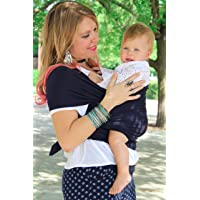 Moby Wrap Baby Carrier for Newborns + Toddlers Soft Baby Sling Baby Wrap, Ideal for Baby Wearing, Breastfeeding, and…